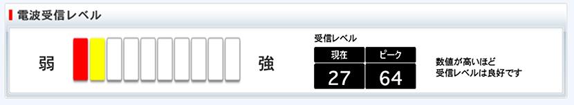 SoftBank Air(ソフトバンクエアー)のメーターが赤くなっていると電波が悪い