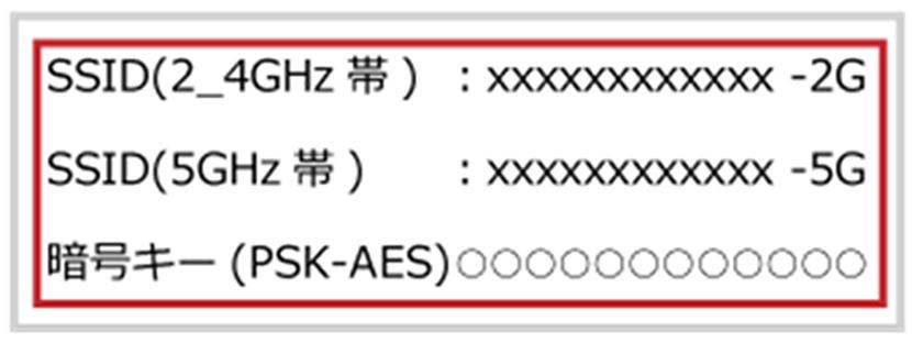 SoftBank Air(ソフトバンクエアー)のSSIDとは