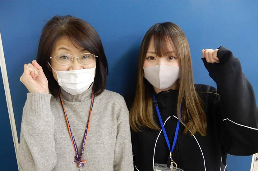 左から、廣岡さん、伊藤さん