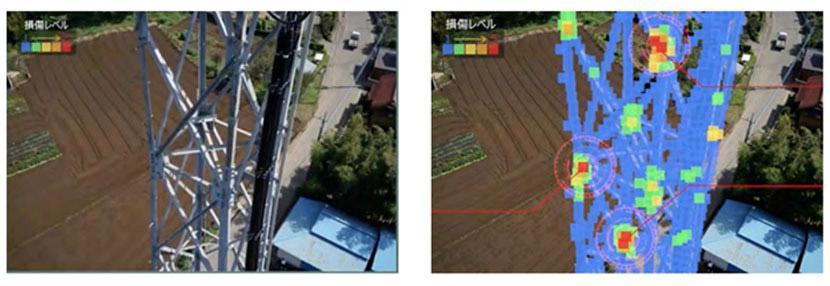 画像処理を活用した鉄塔の錆検知