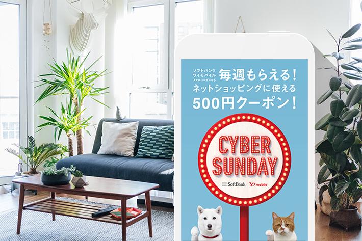 """""""2〜3月の「CYBER"""