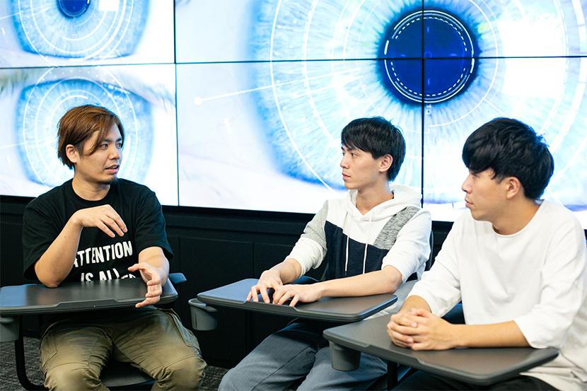 SF映画の世界はもう実現している? ソフトバンク AI部門 部長とAI専攻学生の対談