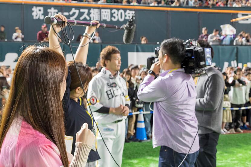 松田選手 | 選手の意外な素顔も!「ホークスファンフェスティバル2019」~新人タカガールレポート総括編~