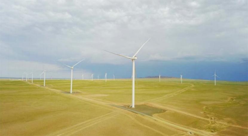 Tsetsii Wind Farm(モンゴル)