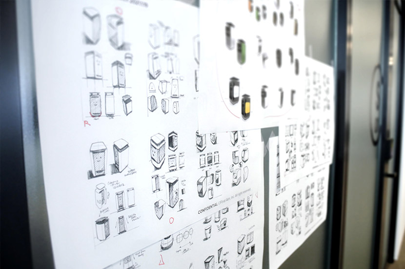Final Aim Inc. is collaborating with SoftBank in design development