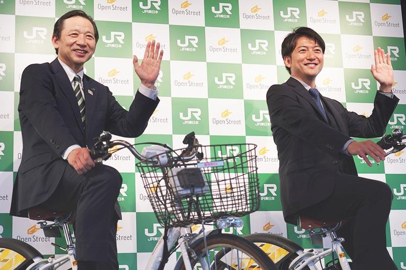 """駅からはじまる """"エコ"""" な移動手段。シェアサイクルのOpenStreetがJR東日本と提携"""