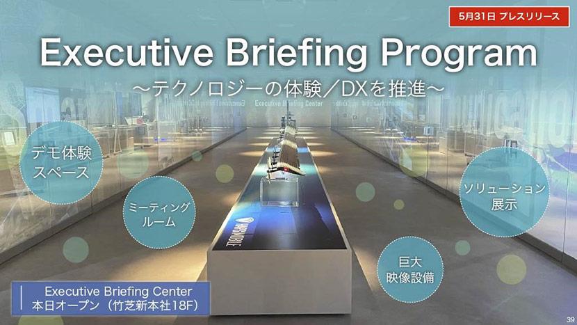 Exective Briefing Program~テクノロジーの体験/DXを推進~