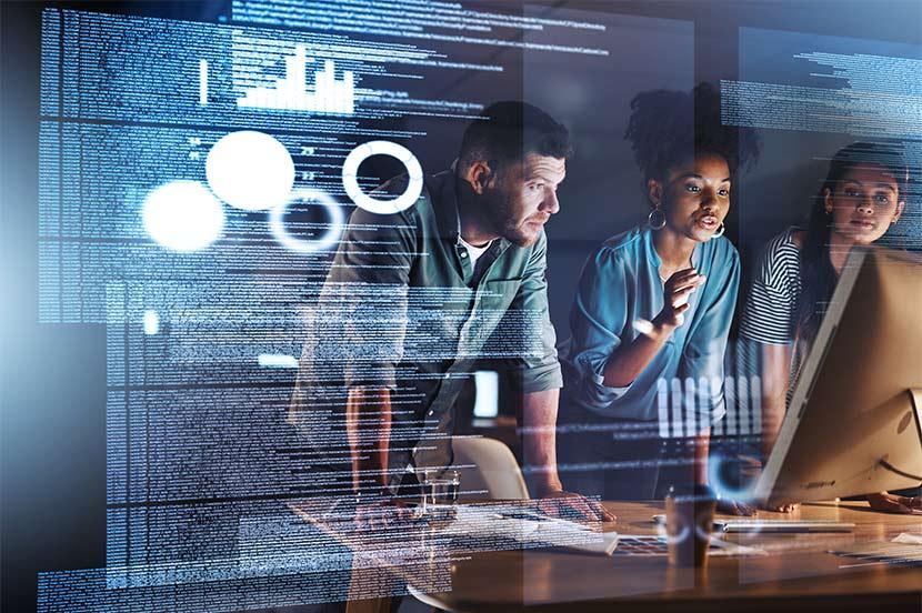 カーボンニュートラルを実現しやすい業種は、IT産業やサービス業、金融など