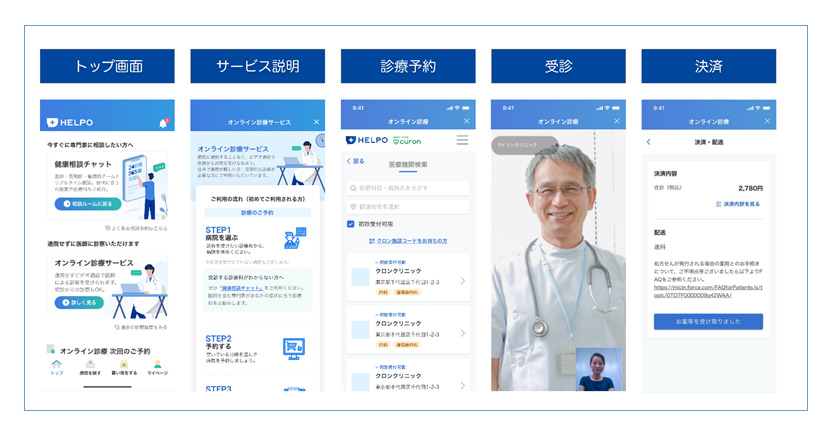 An expanding lineup of healthcare services coming to the HELPO app