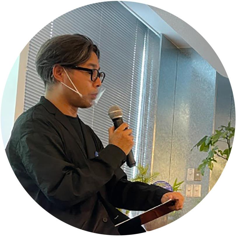 キュレーター/東京ビエンナーレプログラムディレクター の宮本武典さん