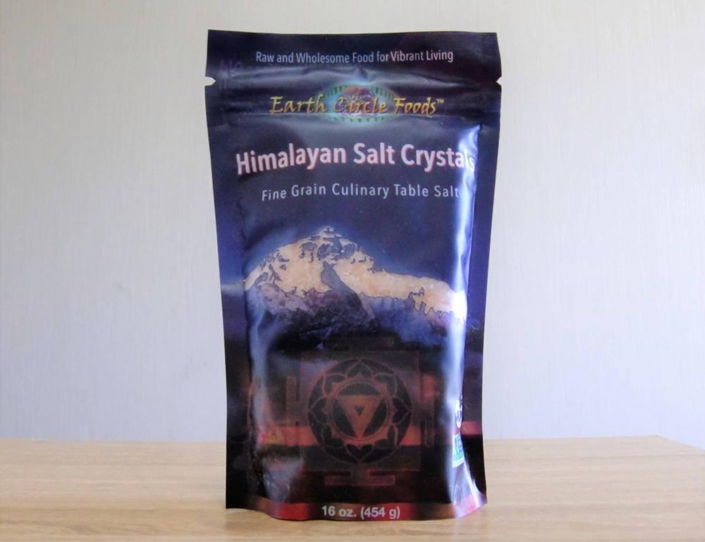 Earth Circle Organics, ヒマラヤ塩クリスタル, 454 g