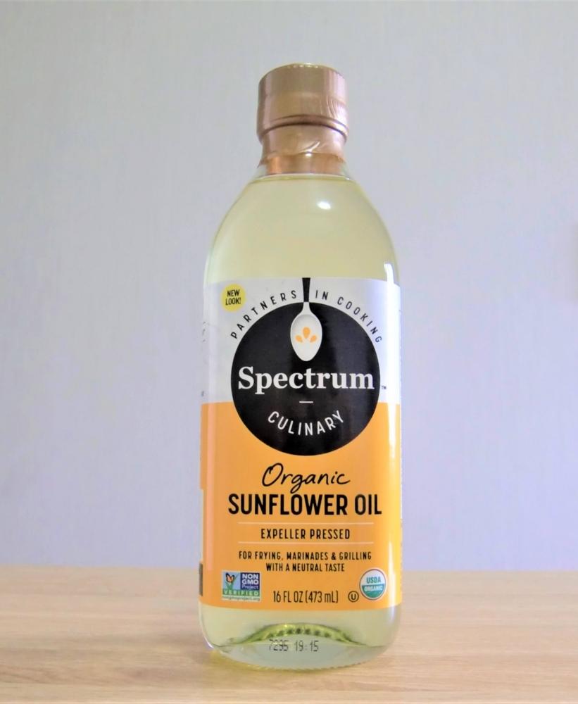 Spectrum Naturals オーガニック 高温 サンフラワーオイル(473 ml)