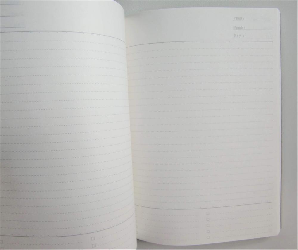 セリア フリーノート368ページ中身