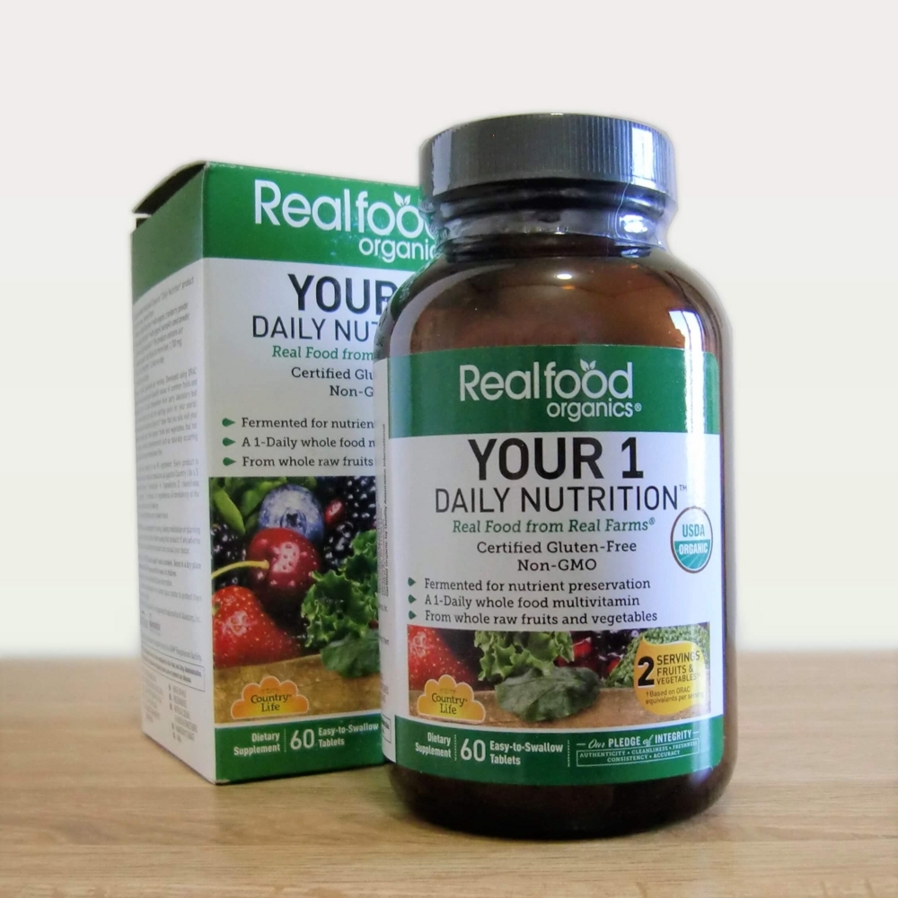 Country Life Realfood Organics Your Daily Nutrition60タブレット