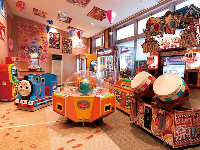 大江戸温泉物語 伊勢志摩のゲームコーナーの画像