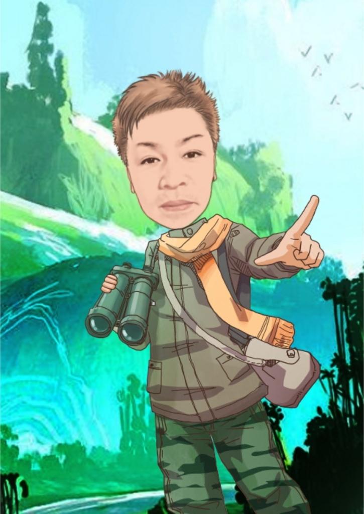 sceneの探検家の格好をしたキャッチ画像