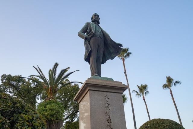 大久保利通の銅像の画像