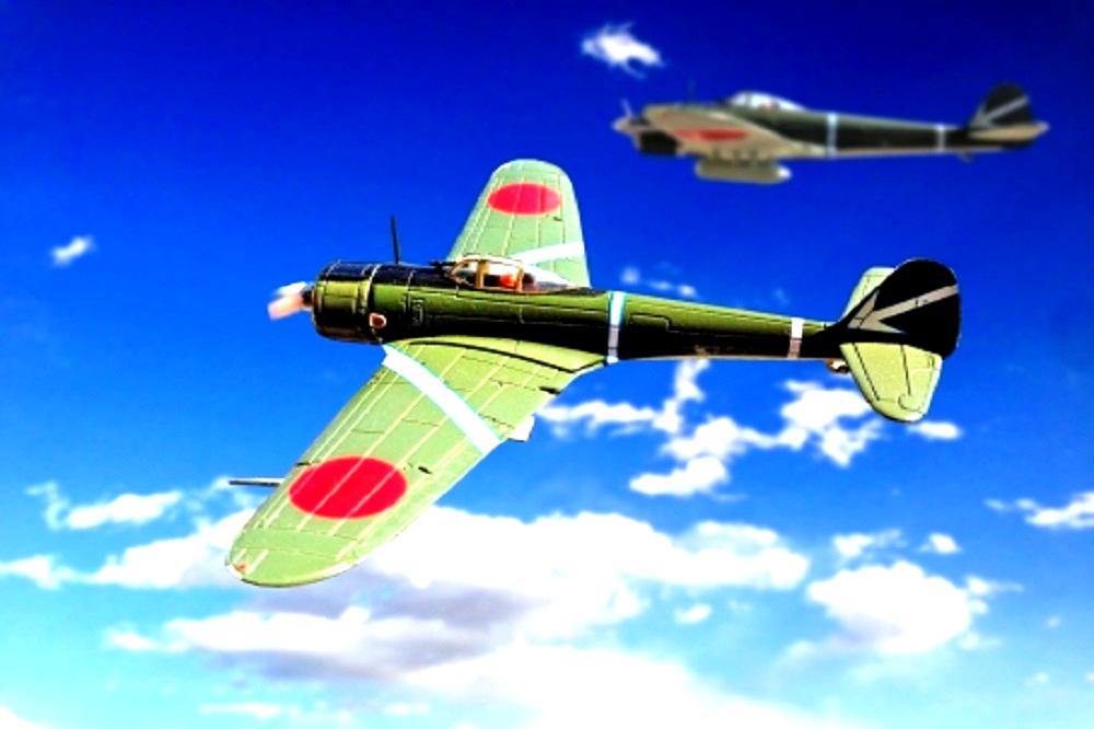 零戦二機の画像