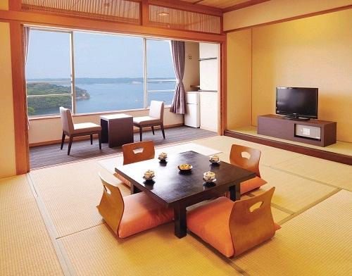 大江戸温泉物語伊勢志摩の客室の画像