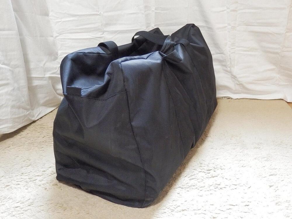 大型トートバッグ ブラック