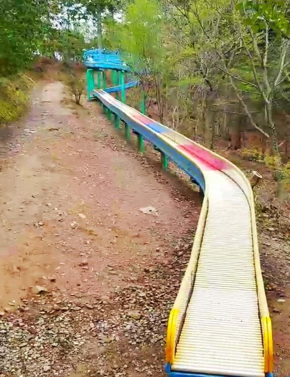 グリーンパーク山東のドラゴンスライダー