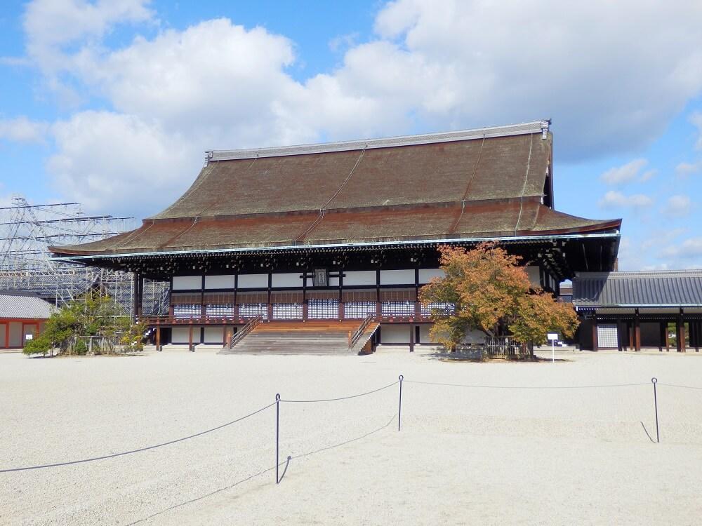 京都御所の紫宸殿