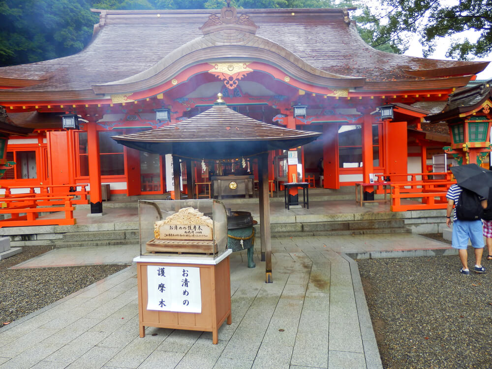 熊野那智大社の拝殿