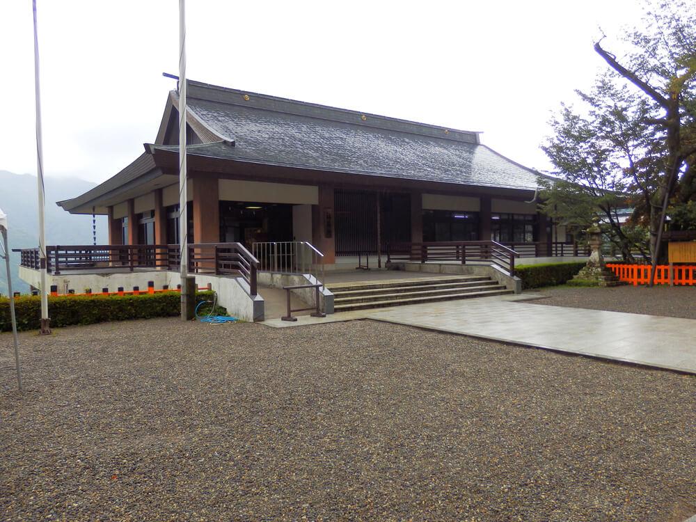 熊野那智大社の社務所