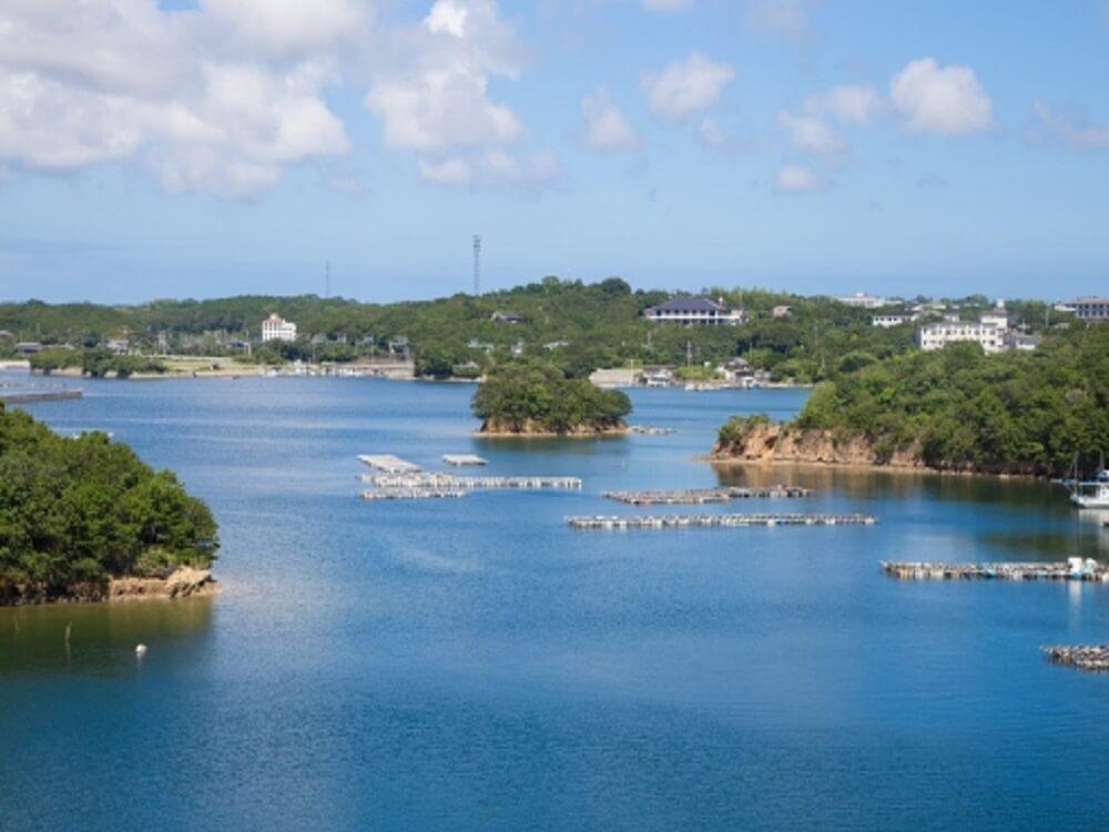 伊勢・志摩の海の風景