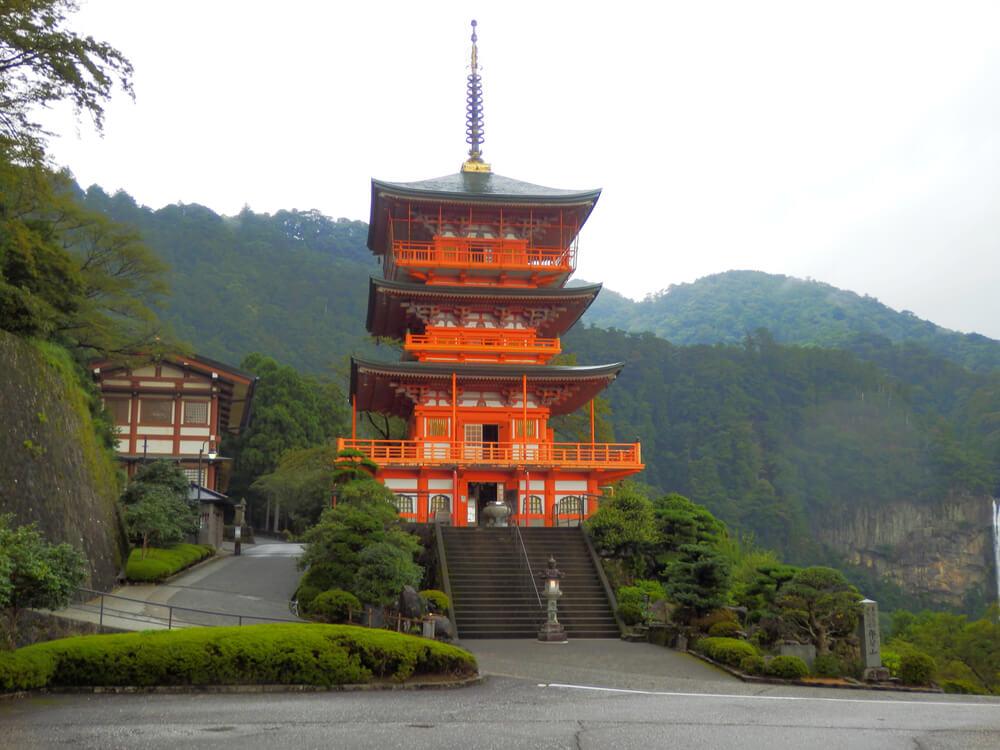 那智山青岸渡寺の三重塔