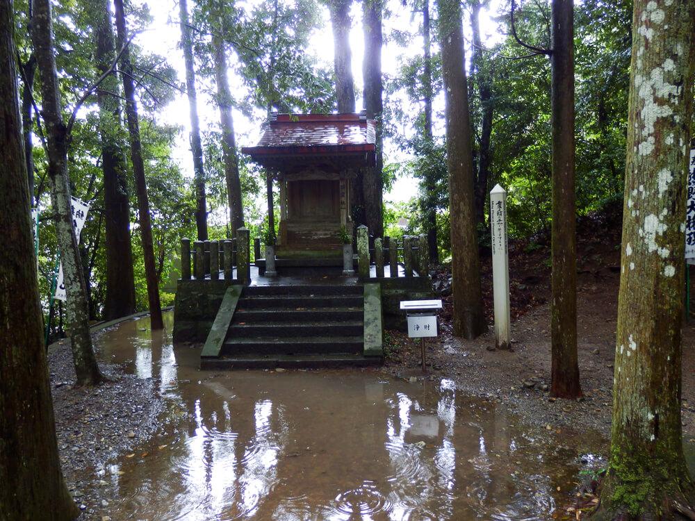 熊野本宮大社の祓戸大神の祠