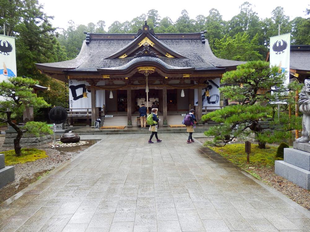 熊野本宮大社の拝殿