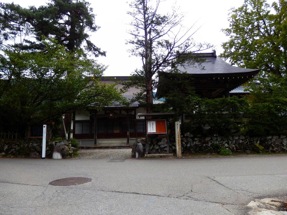 白川郷合掌村の本覚寺
