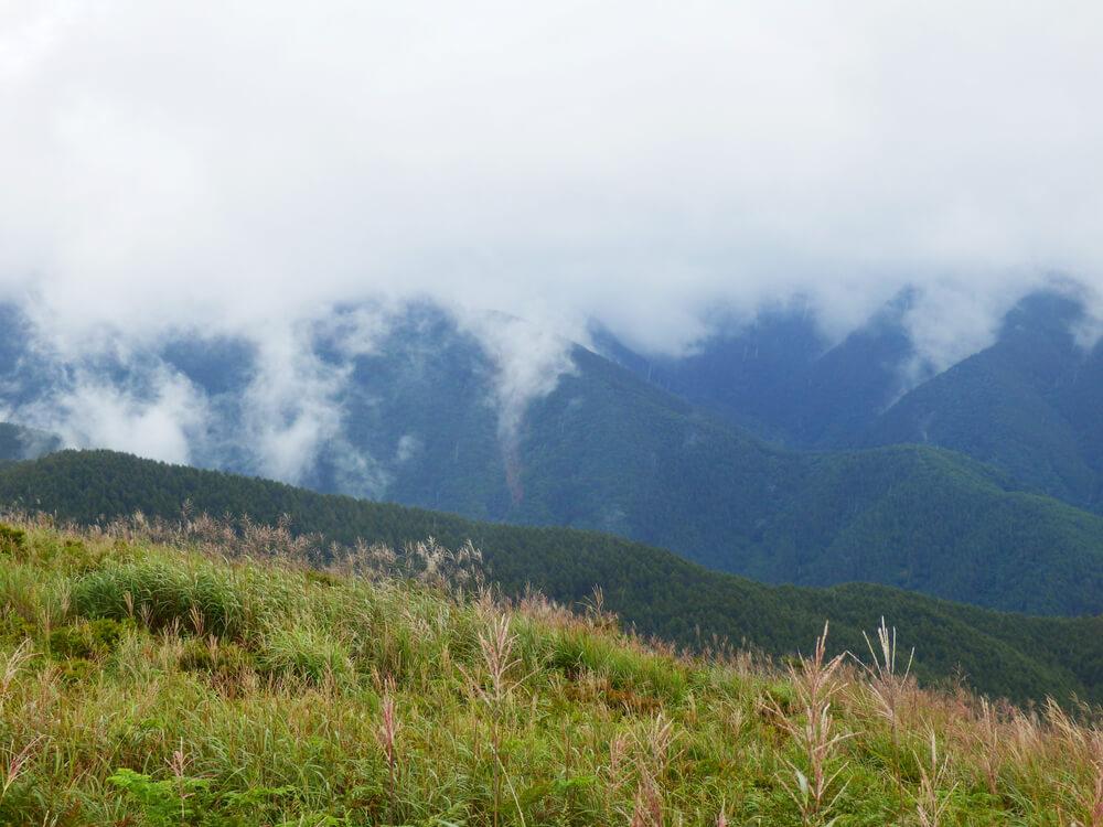 高ボッチ山頂からの眺望