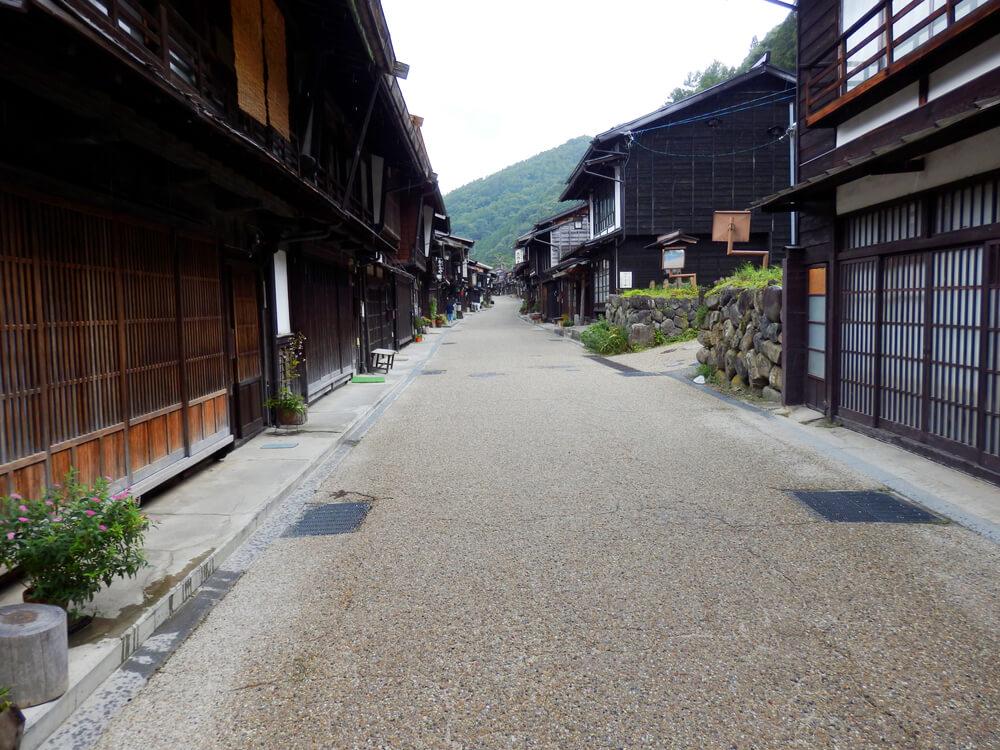 長野県塩尻市の奈良井宿