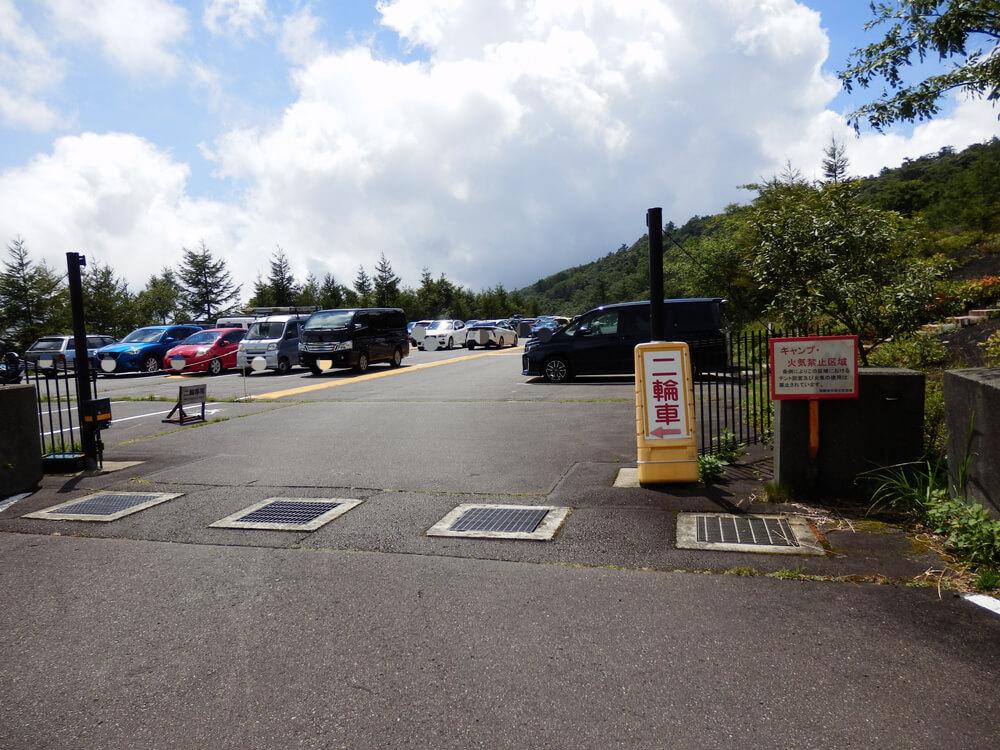 富士山御殿場口第二駐車場