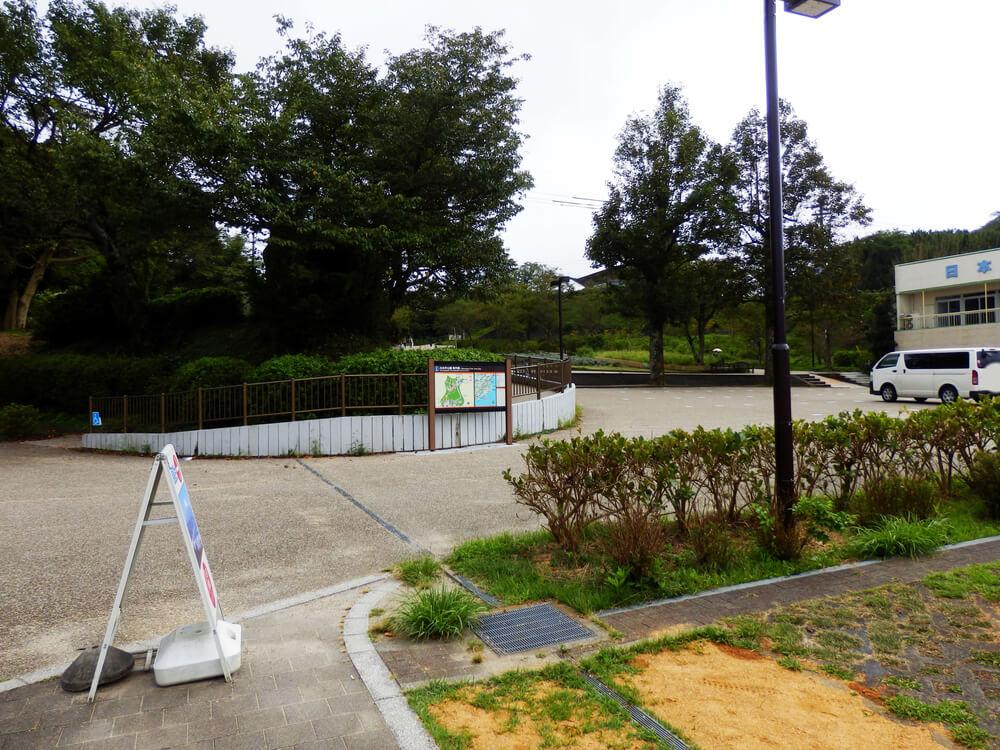 日本平の駐車場