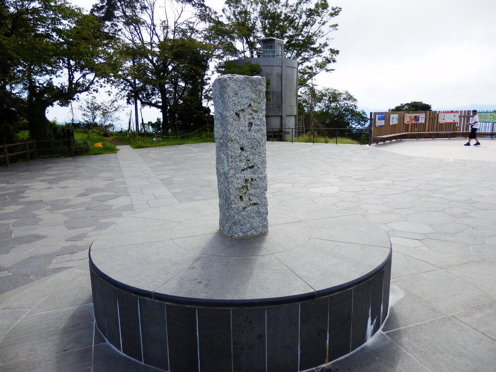 日本平山頂の吟望台