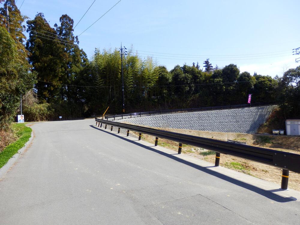 月ヶ瀬梅林公園北口から真福寺への遊歩道