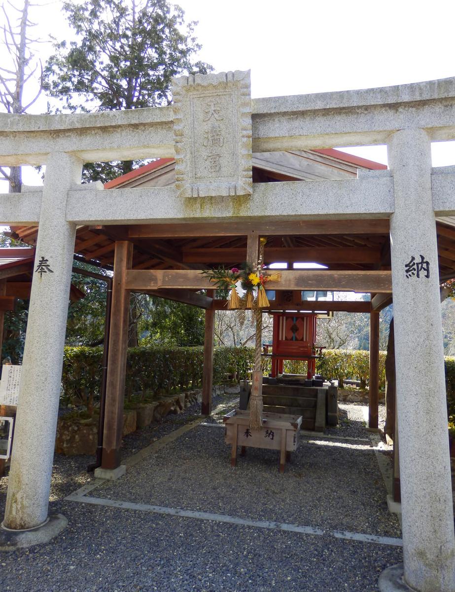 月ヶ瀬の尾山天神神社
