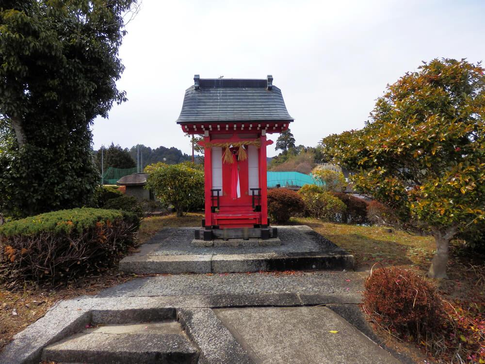 月ヶ瀬の天神風の道公園の金毘羅大権現神社