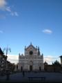 Santa Croce。この前の広場がちょー広い