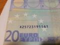 どうやらドイツから来たらしいユーロ