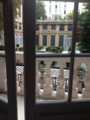赤の宮殿(palazzo rosso)から庭