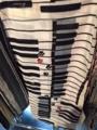 ピアノ柄浴衣