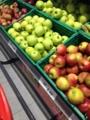 林檎と梨とふぞろい林檎