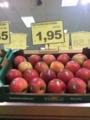 ふじりんご 1.95€/kg