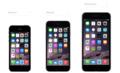 あなたが今持っているiPhoneと、 iPhone 6やiPhone 6 Plusを比べてみましょう