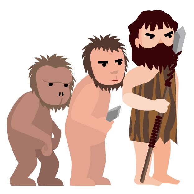 サルからヒトへの進化