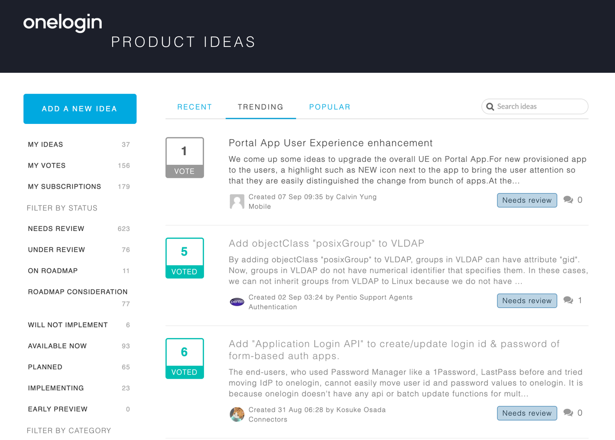 IDEAS Portal サイト